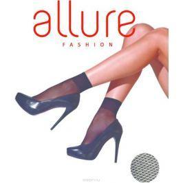 Носки женские Allure Tulle 20, цвет: Glase (бронза). Размер универсальный