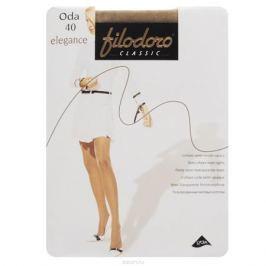 Колготки женские Filodoro Classic Oda 40 Elegance, цвет: Playa (телесный). C113128FC. Размер 5 (Maxi-XL)