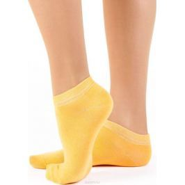 Носки женские Idilio, цвет: желтый. SW 10. Размер 38/40
