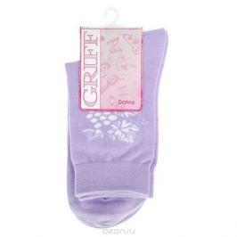 Носки женские Griff Виноград, цвет: сиреневый. D265. Размер 39/41