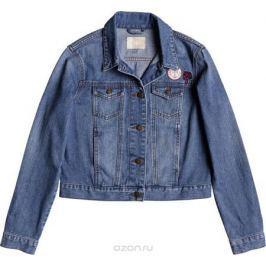 Куртка женская Roxy Hello Spring, цвет: голубой. ERJJK03226-BFN0. Размер XS (40)