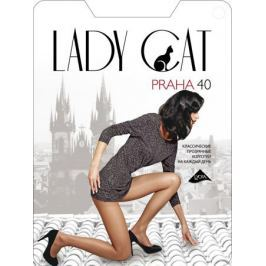 Колготки Lady Cat Praha 40, цвет: черный. Размер 6