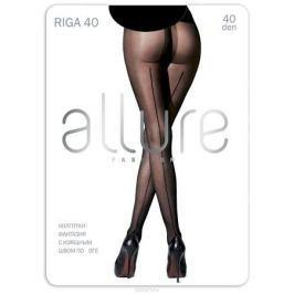 Колготки Allure Riga 40, цвет: Nero (черный). Размер 4
