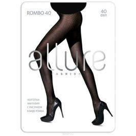 Колготки Allure Rombo 40, цвет: Nero (черный). Размер 4
