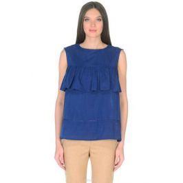 Топ женский Baon, цвет: синий. B268054_Deep Baltic Blue. Размер L (48)