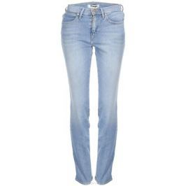 Джинсы женские Wrangler High Slim, цвет: голубой. W27GQB15K. Размер 34-32 (50-32)