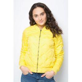 Куртка женская United Colors of Benetton, цвет: желтый. 2DA5533X3_35R. Размер 38 (40)