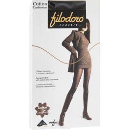 Колготки женские Filodoro Classic Cotton Cashmere, цвет: Nero (черный). C113972CL. Размер 4 (46/48)