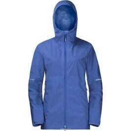 Куртка женская Jack Wolfskin Sierra Pass Jacket, цвет: голубой. 1110101-1098. Размер XL (52/54)