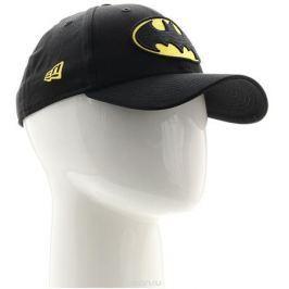 Бейсболка New Era Character 9forty Batman, цвет: черный, желтый. 11379829-BLK. Размер универсальный
