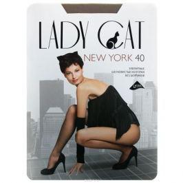 Колготки Грация Lady Cat New York 40, цвет: телесный. Размер 6