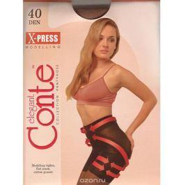 Колготки женские Conte X-Press 40, цвет: бронзовый. 8С-69СП. Размер 3