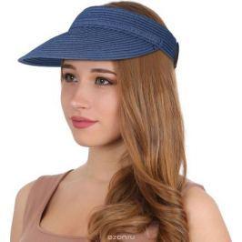 Козырек женский Fabretti, цвет: синий. G1. Размер 56/59