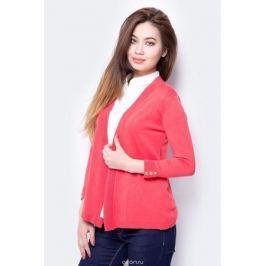 Кардиган женский Sela, цвет: красный. CN-114/1300-8132. Размер XS (42)