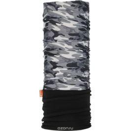 Бандана Wind X-Treme PolarWind, цвет: черный, серый. 2171. Размер универсальный