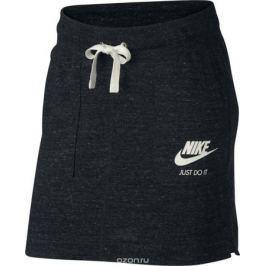 Юбка Nike Sportswear Gym Vintage, цвет: черный. 883976-010. Размер S (42/44)