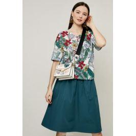 Блузка женская Zarina, цвет: зеленый. 8224507407015. Размер XS (42)
