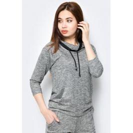 Джемпер женский Sela, цвет: серый. St-113/094-8253. Размер XXL (52)