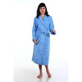 Халат женский Amo La Vita, цвет: голубой. ХМБ0304. Размер 54