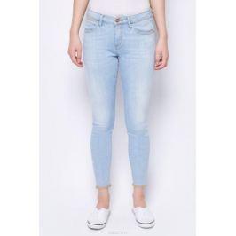 Джинсы женские Wrangler Crop Skinny, цвет: голубой. W28MGU146. Размер 32-32 (48-32)