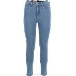 Джинсы женские Lee Scarlett High, цвет: синий. L626HABM. Размер 32-31 (48-31)
