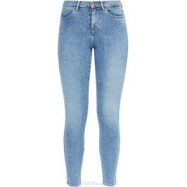 Джинсы женские Wrangler High Skinny, цвет: синий. W27HFS15L. Размер 32-32 (48-32)