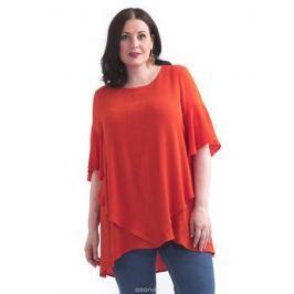 Туника женская Averi, цвет: оранжевый. 1437. Размер 64 (68)
