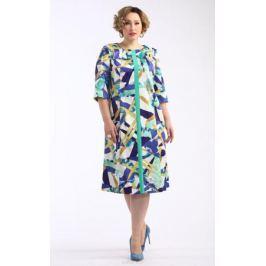 Платье Averi, цвет: синий. 1400. Размер 64 (68)