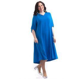 Платье Averi, цвет: синий. 1429. Размер 64 (68)