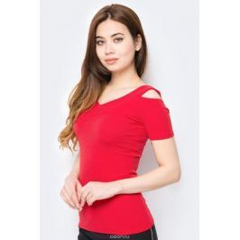Блузка женская adL, цвет: красный. 11533719000_006. Размер XS (40/42)
