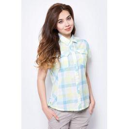 Рубашка женская Columbia Camp Henry SS Shirt, цвет: желтый. 1450311-750. Размер S (44)