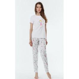 Пижама женская Melado Tuilde, цвет: белый. 8108P-80010.2S-090.439. Размер 50