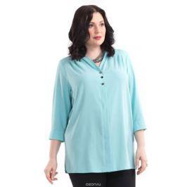 Блузка женская Averi, цвет: бирюзовый. 1414. Размер 60