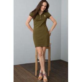 Платье женское U.S. Polo Assn., цвет: хаки. G082SZ0750MTS02IY08-075_VR111. Размер XL (50)