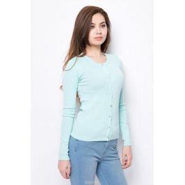 Кардиган женский United Colors of Benetton, цвет: бирюзовый. 1091D5376_0N5. Размер L (46/48)