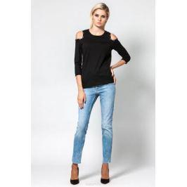 Джемпер женский Conso, цвет: черный. KWJS180757. Размер 46 (48)