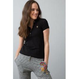 Поло женское U.S. Polo Assn., цвет: черный. G082SZ0110RP01IY08-011. Размер XL (50)