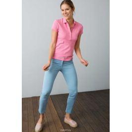 Поло женское U.S. Polo Assn., цвет: розовый. G082SZ0110RP01IY08-011. Размер XL (50)