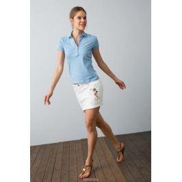 Поло женское U.S. Polo Assn., цвет: голубой. G082SZ0110RP01IY08-011. Размер L (48)