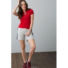 Поло женское U.S. Polo Assn., цвет: красный. G082SZ0110RP01IY08-011. Размер M (46)
