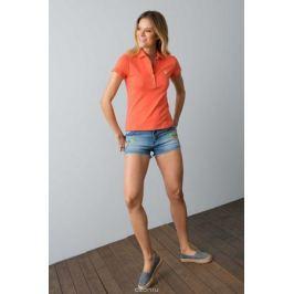 Поло женское U.S. Polo Assn., цвет: оранжевый. G082SZ0110RP01IY08-011. Размер L (48)
