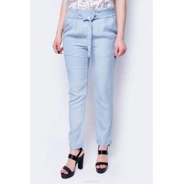 Брюки женские Sela, цвет: светло-голубой джинс. P-115/603-8283. Размер 50