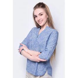 Блузка женская Sela, цвет: яркий синий. B-112/355-8233. Размер 46