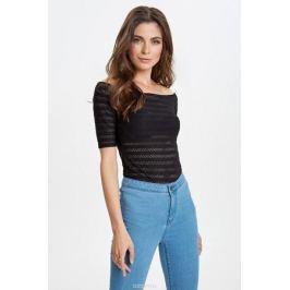 Блузка женская Concept Club Bruno, цвет: черный. 10200110308_100. Размер XL (50)