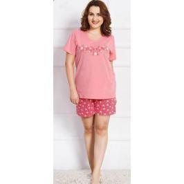 Комплект домашний женский Vienetta's Secret, цвет: розовый. 710429 4229. Размер 3XL (54)