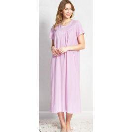 Ночная рубашка женская Vienetta's Secret, цвет: розовый. 160386 5170. Размер XL (50)