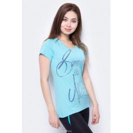 Футболка женская Icepeak, цвет: голубой. 954773514IV_334. Размер 44 (50)