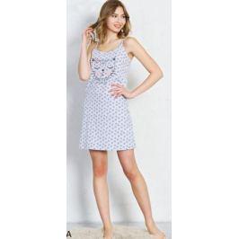 Туника домашняя женская Vienetta's Secret, цвет: серый меланж. 706144 1049. Размер XL (50)
