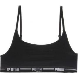 Топ-бра Puma Iconic Casual, цвет: черный. 90707203. Размер L (46/48)
