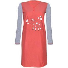 Платье домашнее Коллекция, цвет: коралловый. СЖ-18/56/1. Размер 56